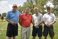 CABA Membership Director Scott Dulaney and his foursome